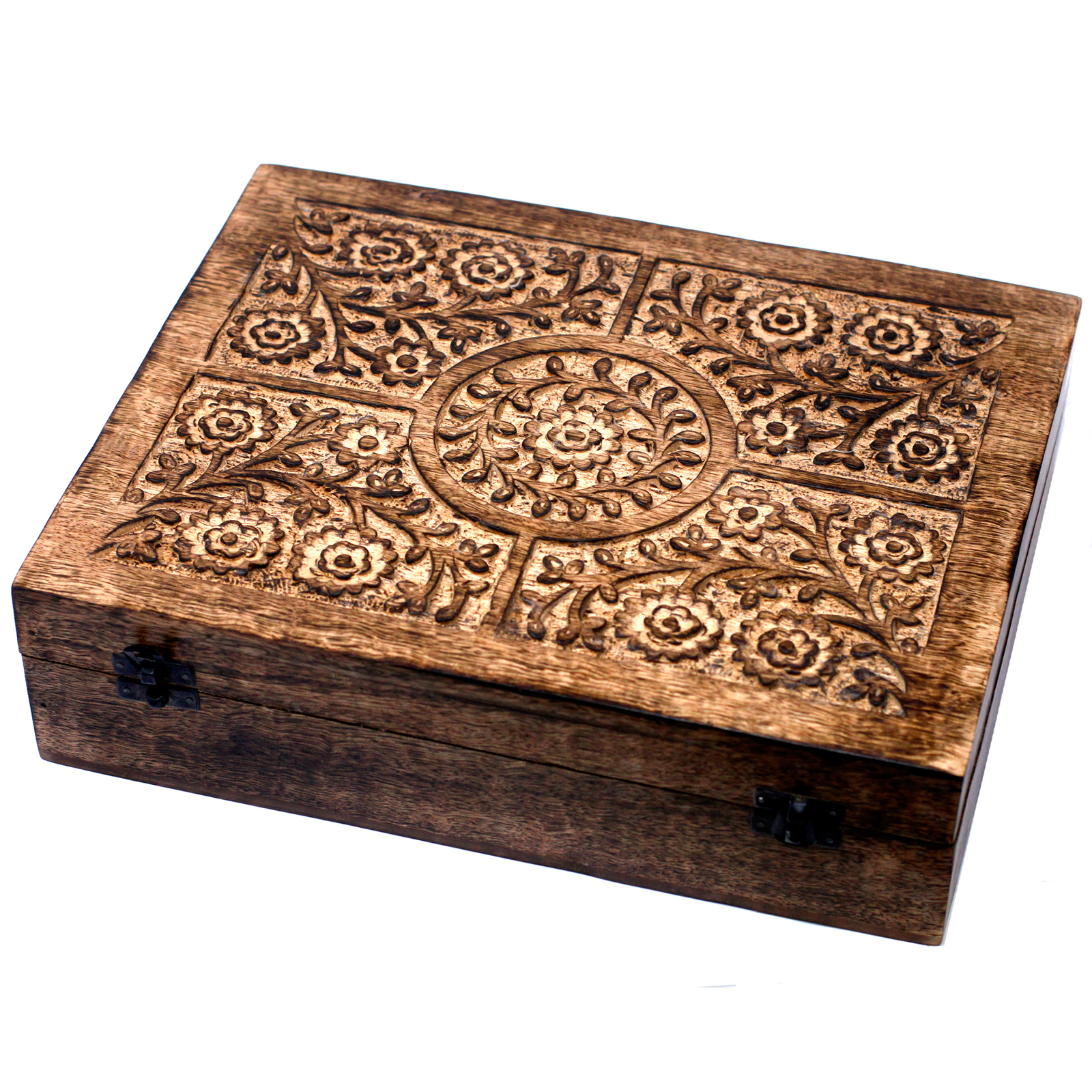 Aromatherapy Floral Carved Boxes