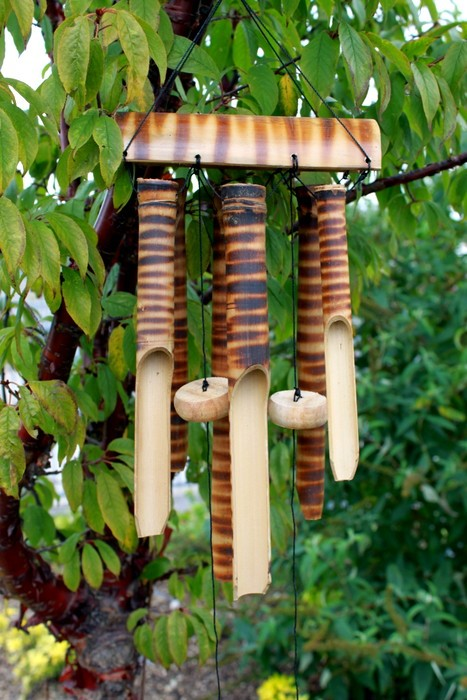 Bamboo Mountain Wind Chimes