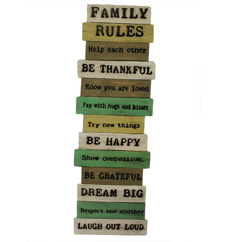 Artisan Rough Wooden Signs